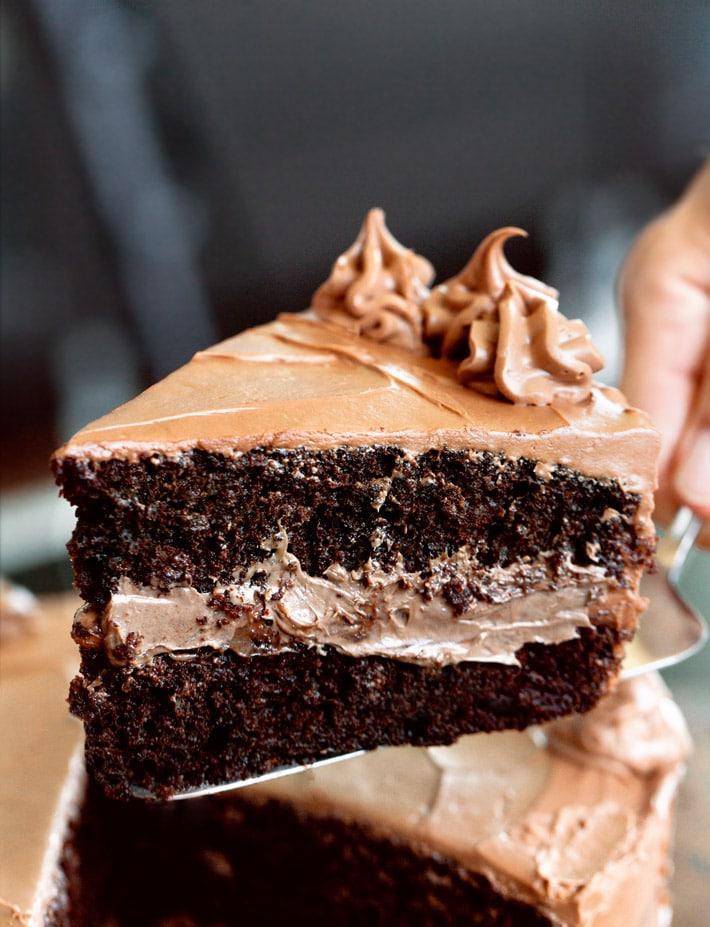 The Best Vegan Chocolate Cake