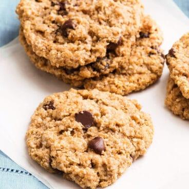 Flourless Chocolate Chip Cookie Recipe