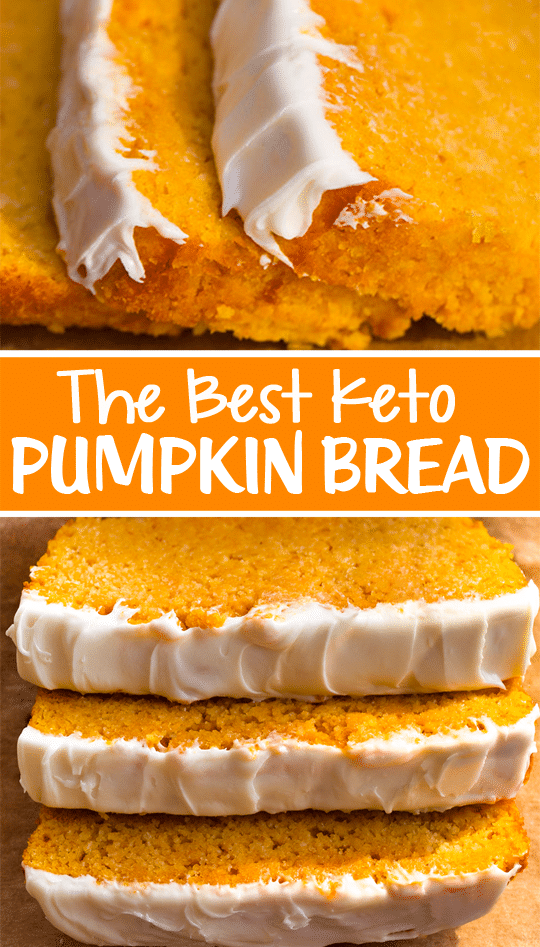 Low Carb Pumpkin Loaf (Keto Recipe)