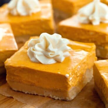 Pumpkin Dessert Bar Recipe