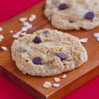 Chocolate Chip Microwave Cookies