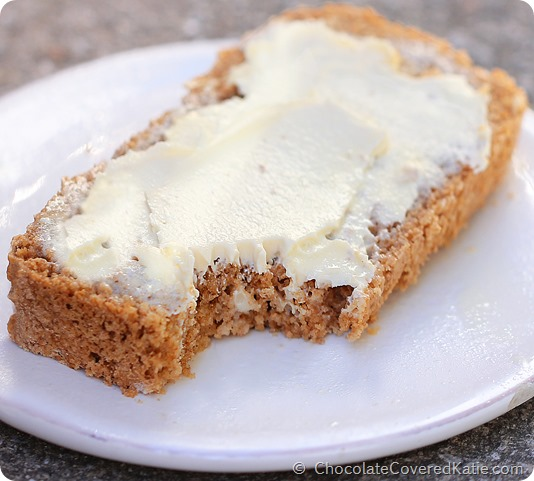 6 Ingredient Beer Bread - really easy to make, and goes well with everything! https://chocolatecoveredkatie.com/2014/09/01/beer-bread-recipe/