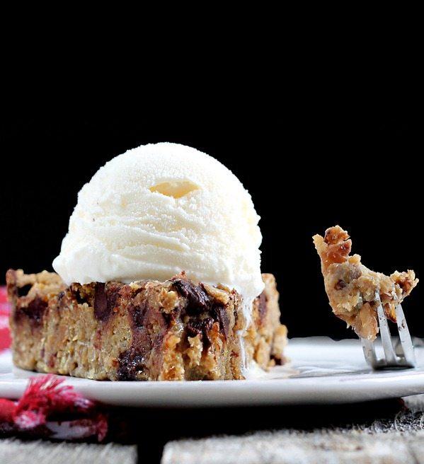 Deep Dish Cookie Pie