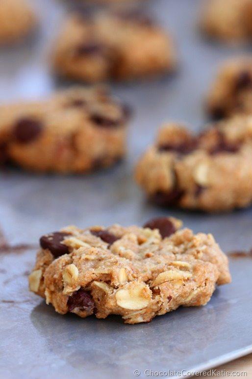 Chocolate Chip Cowboy Cookies: https://chocolatecoveredkatie.com/2014/12/01/chocolate-chip-cowboy-cookies/