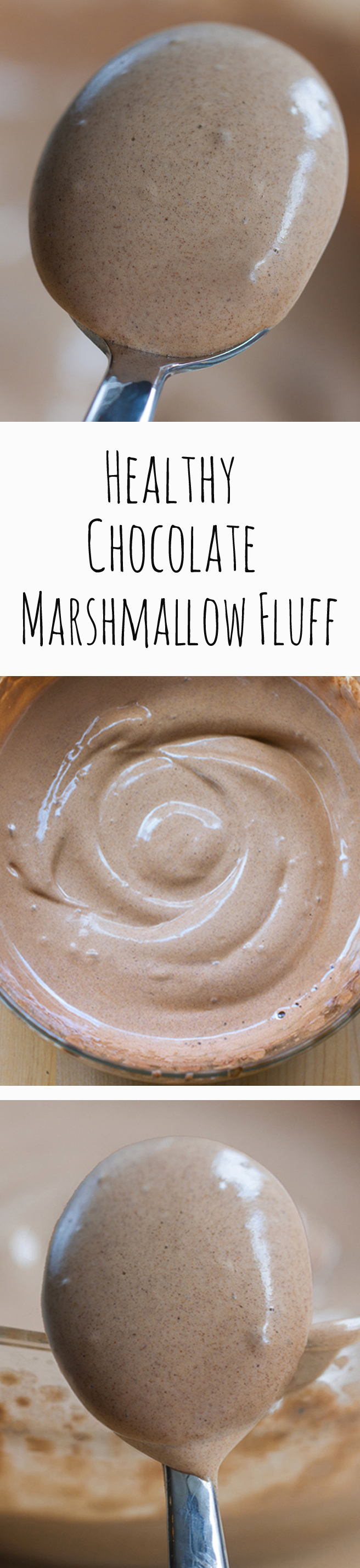 No corn syrup, no powdered sugar, no raw eggs... You will NEVER believe the ingredients that make this! ... Full recipe: https://chocolatecoveredkatie.com/2015/04/30/healthy-vegan-marshmallow-fluff/ @choccoveredkt