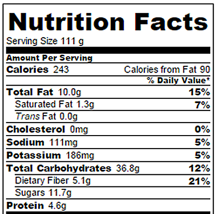 Apple Pie Nutrition Facts Chocolate Covered Katie