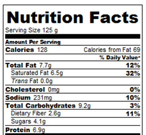 Banana Pudding Calories And Nutrition Facts Chocolate Covered Katie
