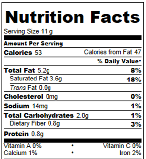 Birthday Reeses Nutrition Facts Chocolate Covered Katie