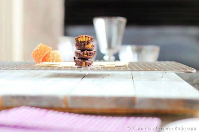 Homemade Pumpkin Reeses!