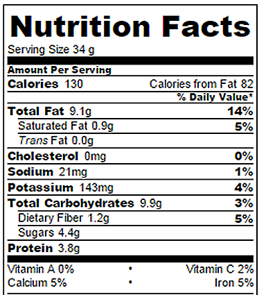 Blueberry Bars Nutrition Facts Chocolate Covered Katie