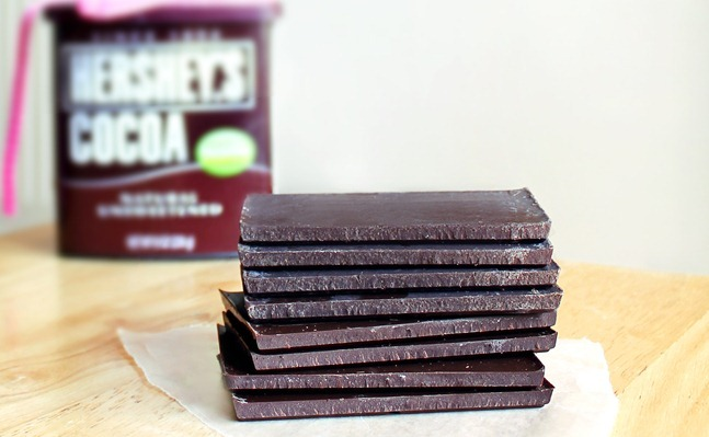The sky is the limit-- make any flavor chocolate bars you choose! Full recipe: https://chocolatecoveredkatie.com/2012/01/15/three-ingredient-chocolate-bars-1/