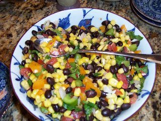 Texas Caviar and Watermelon Salsa
