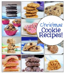 This page has healthier alternatives to all your favorite Christmas cookie recipes.