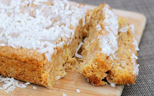 Soft and luxurious coconut breakfast cake is a family favorite in my house. Whenever we don't know what to have for breakfast, we'll make this recipe! It is highly recommended! https://chocolatecoveredkatie.com/2012/04/11/big-fat-coconut-breakfast-cake-2/