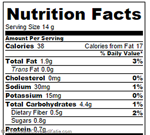 Cream Cheese Cookies Nutrition Facts Chocolate Covered Katie