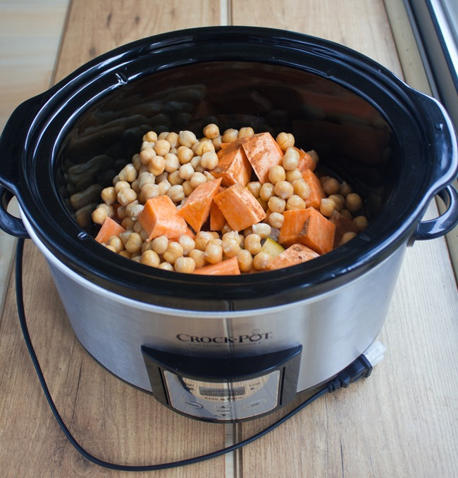 vegan chili slow cooker
