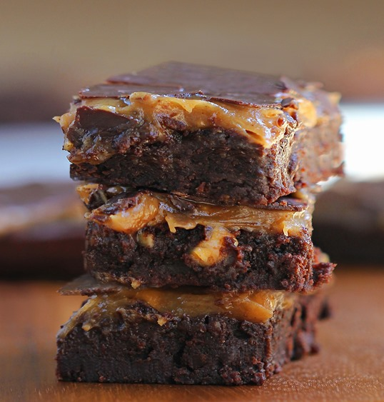 Peanut Butter Buckeye Brownies