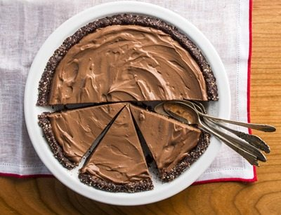 Healthy Chocolate Cream Pie