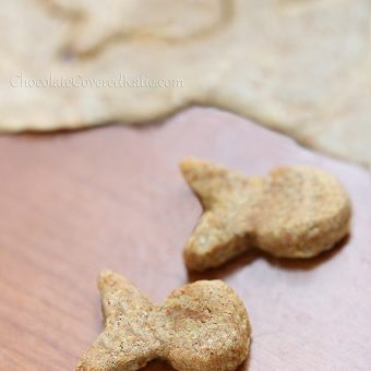 Healthy White Cheddar Vegan Goldfish Crackers