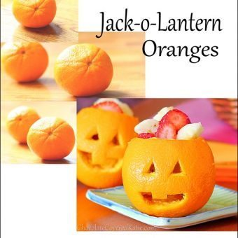 How to make Jack-o-Lantern Oranges