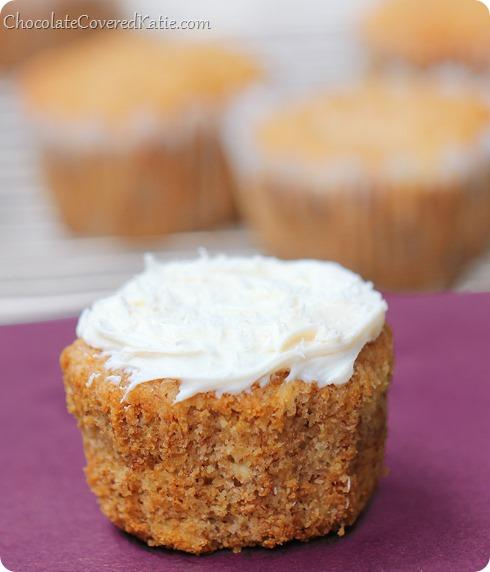 Hummingbird Cupcakes: https://chocolatecoveredkatie.com/2014/03/24/hummingbird-cupcakes/