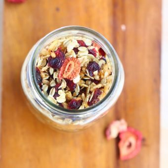 Low Fat Granola – No Oil Required!
