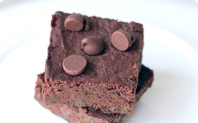 Kale Brownies? If you're feeling adventurous, give these brownies a try. They just might surprise you! https://chocolatecoveredkatie.com/2013/08/08/kale-brownies/