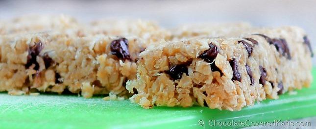 Coconut Granola Bars