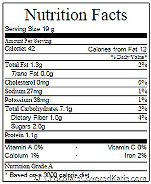cinnamon rolls nutrition facts