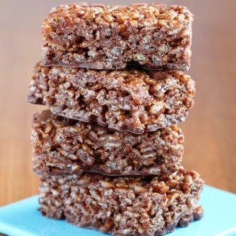 Nutella Rice Krispy Treats