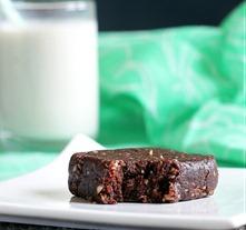 thin mint brownies