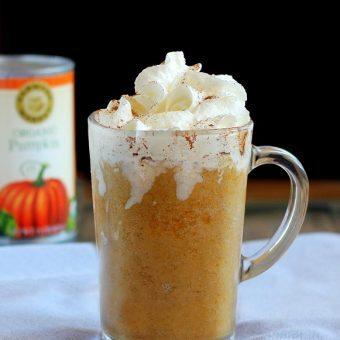 Healthy Makeover: Pumpkin Spice Frappuccinos