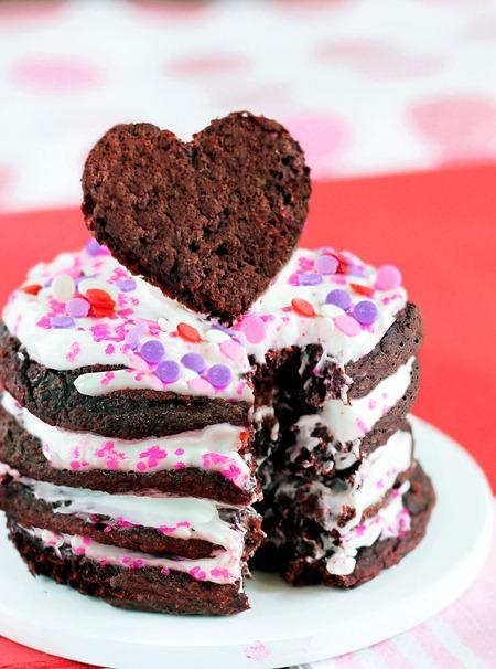 Heart Healthy Red Velvet Pancakes