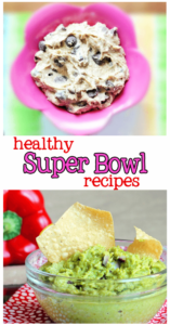 Seventeen healthy recipes for Super Bowl Sunday