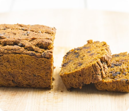 oil free pumpkin bread