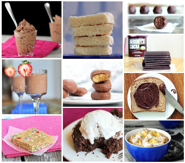 The top 10 most popular healthy desserts of the year.