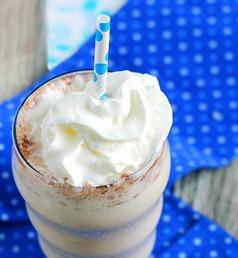 vanilla breakfast shake