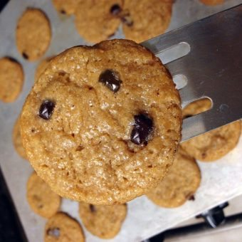 Fitnessista Chocolate Chip Cookies