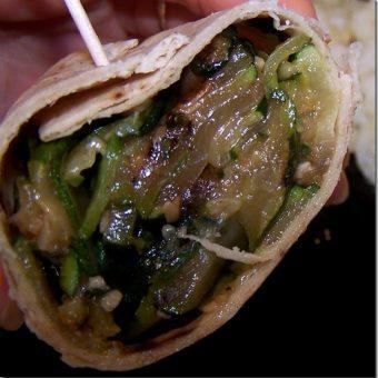 Mondo Zucchini Burrito