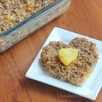 Sunshine Breakfast Baked Oatmeal Recipe