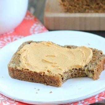 Chai Banana Bread with Pumpkin Cream Cheese