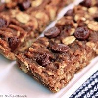 Chocolate Chip Sugar Free Granola Bars