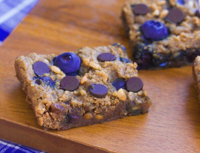 Chocolate Chip Blueberry Bars