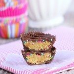 Cake Batter Peanut Butter Cups