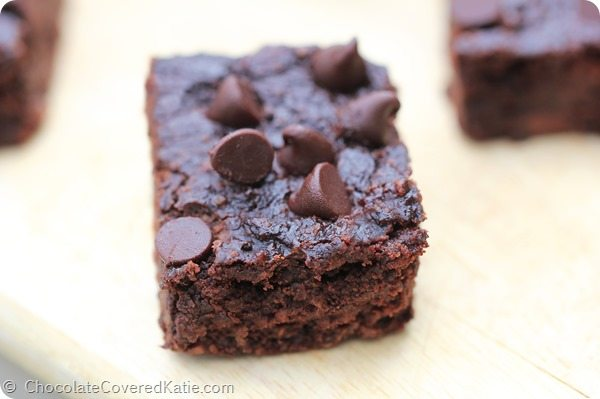 Black Bean Brownies – No Flour Required!