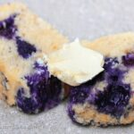 Homemade Blueberry Muffin Cake Bread