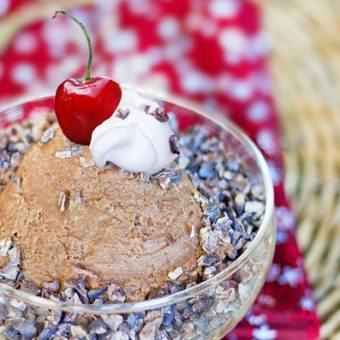 Sugar-Free Chocolate Brownie Batter Dip