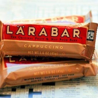 New Cappuccino Larabars (giveaway)