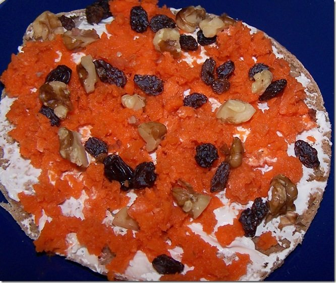 carrot cake sandwich