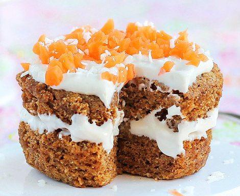 5 Minute Carrot Cake {single serving}